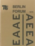 Berlin Forum: 'The Role of the Project in Design Education'