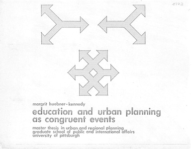 Education and urban planning as congruent events