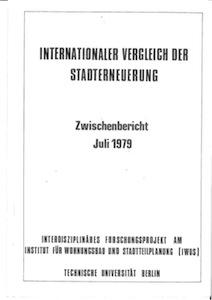 INTERNATIONALER VERGLEICH DER STADTERNEUERUNG