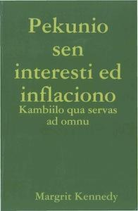 Pekunio sen interesti ed inflaciono