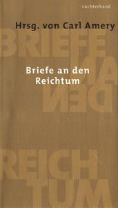 """Cover """"Briefe an den Reichtum"""""""